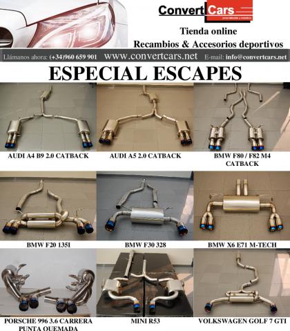 Especial escapes