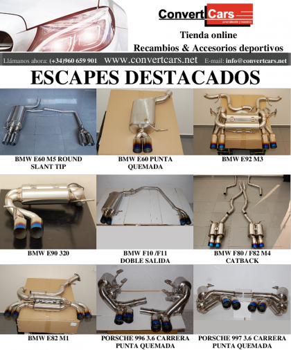 Escapes destacados