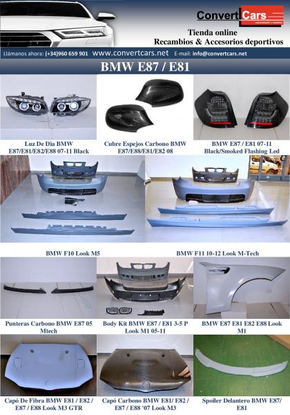 Kit carrocería Bmw E87 / E81