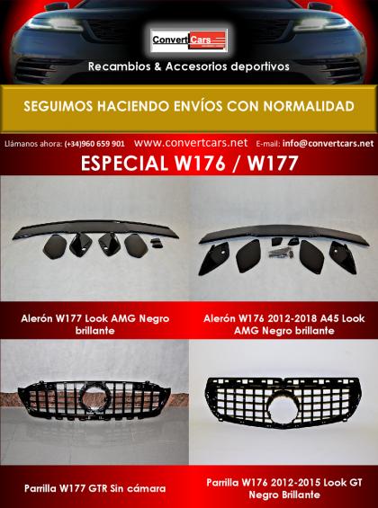 Especial  Carrocería W176 / W177